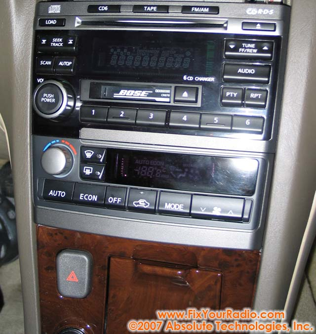 Nissan Maxima Radio Removal '02 '03rhshareamemory: 1996 Nissan Maxima Car Radio At Elf-jo.com