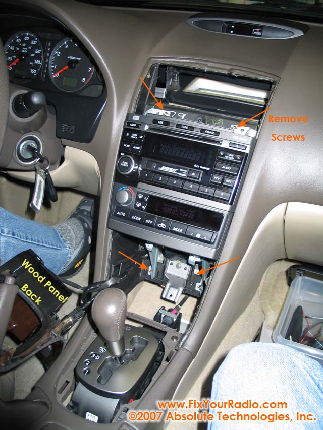 Figure 14 Remove 4 S That Hold The Environmental Control Radio Unit In Place