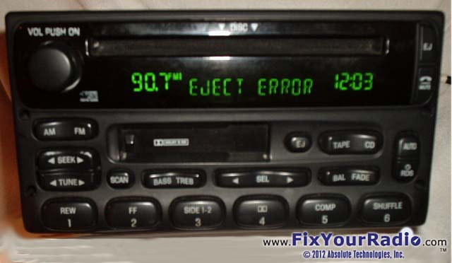 Radio Repairs Including Blank Display Ford Nissan Quest Rhshareamemory: Ford Radio Display Not Working At Gmaili.net