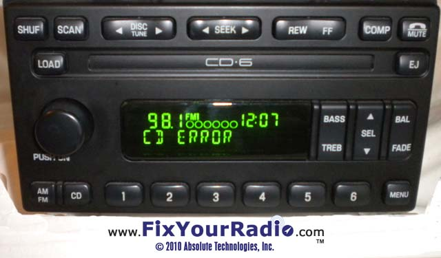 Radio Repairs Including Blank Display Ford Nissan Quest Rhshareamemory: 2003 Ford Explorer Radio Cd Player At Elf-jo.com