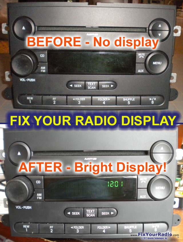 2010 ford fusion radio removal