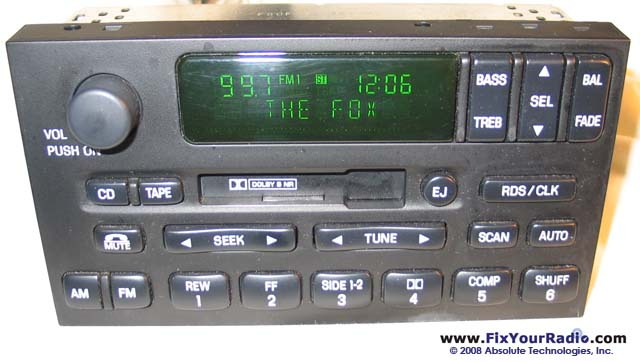 Radio Repairs Including Blank Display Ford Nissan Quest Rhshareamemory: 1999 Ford Expedition Factory Radio At Gmaili.net