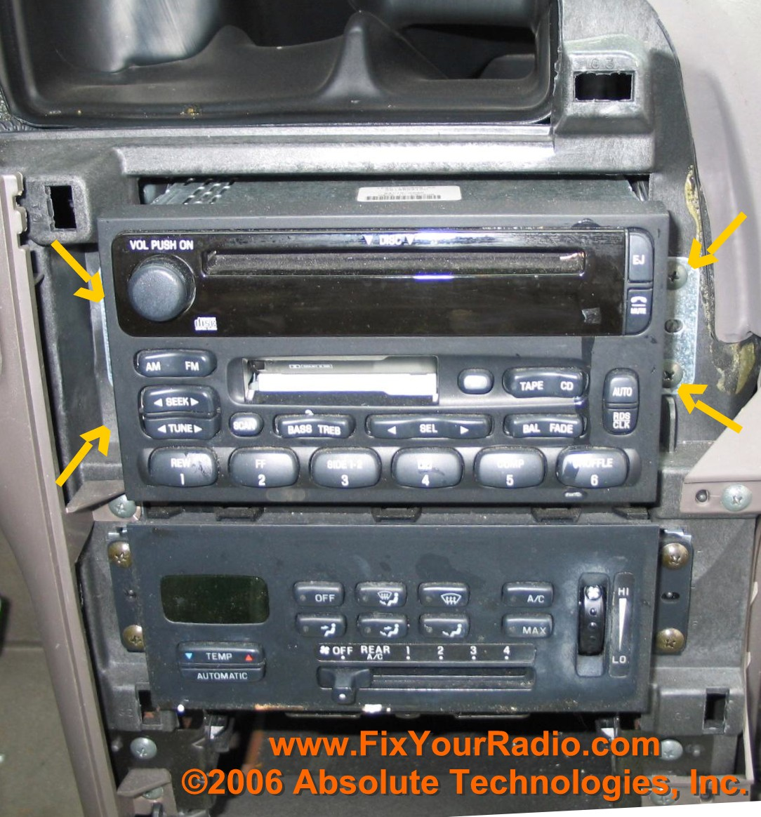 Service manual [Removing Auto Radio 2001 Nissan Maxima] - How To Remove A Nissan Radio Ehow ...